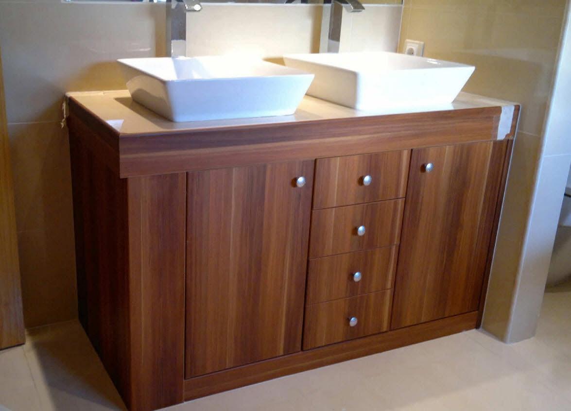 Muebles Para Baño De Madera ~ Dikidu.com