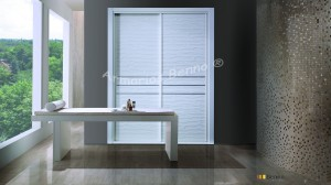 Serie Classic 106 - Perfil Blanco Panel TE Python