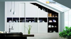Serie Classic 114 - Perfil Blanco Panel Combinado 3+3