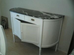Restauración de mobiliario.