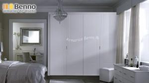 Serie Elegant 135 - Panel Pantografiado Lacado Blanco